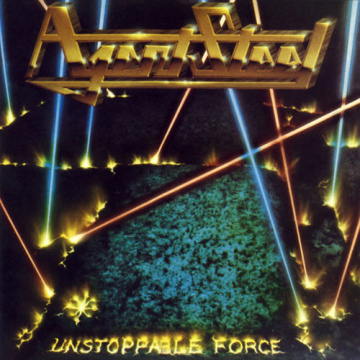 AGENT STEEL - Unstoppable Force LP UUSI Back On Black LTD COLOUR VINYL
