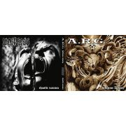 A.R.G. / WORTHLESS - Hellcome Misery / Chaotic Nausea -split CD