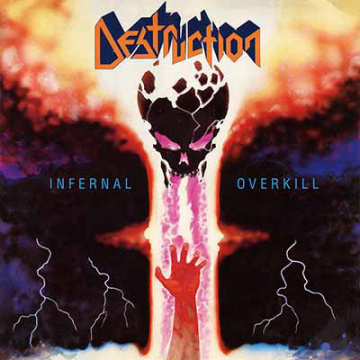 DESTRUCTION - Infernal Overkill LP UUSI LTD 500 ORANGE VINYL