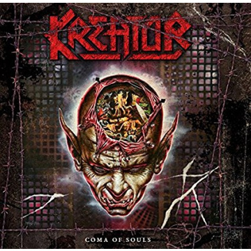 KREATOR - Coma of Souls 3LP RED VINYLS