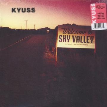 KYUSS - Welcome To Sky Valley LP Elektra UUSI