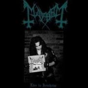 MAYHEM - Live In Jessheim LP Peaceville LTD GREEN VINYL