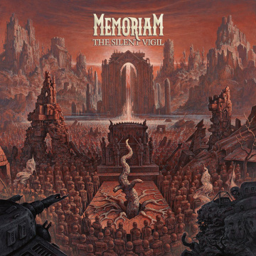 MEMORIAM - The Silent Vigil LP UUSI Nb BLACK