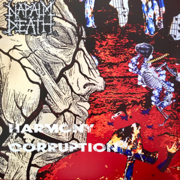 NAPALM DEATH - Harmony Corruption LP UUSI Earache