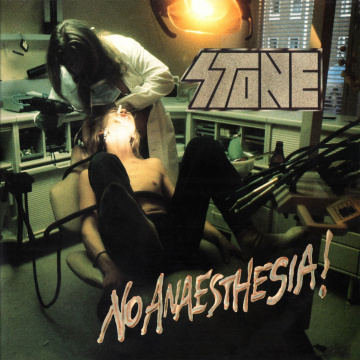STONE - No Anaesthesia! LP LTD 500 SMOKY GREY