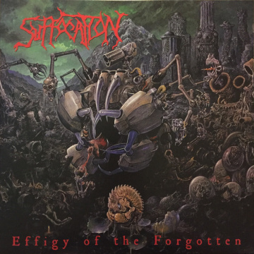 SUFFOCATION - Effigy of the Forgotten LP LTD ORANGE