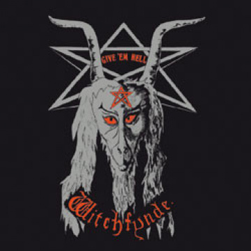 WITCHFYNDE - Give 'Em Hell LP UUSI Back On Black LTD COLOUR vinyl