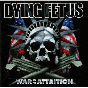 DYING FETUS - War of attrition CD