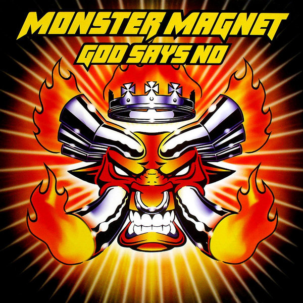 MONSTER MAGNET - God Says No 2-LP Spinefarm UUSI M/M