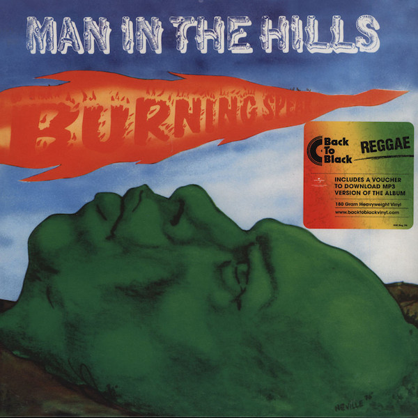 BURNING SPEAR - Man in The Hills LP Island Records  Back To Black