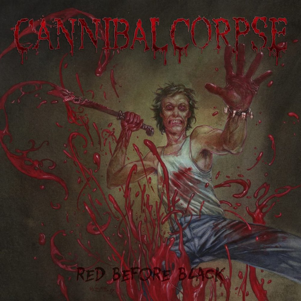6632f7a75e1 CANNIBAL CORPSE - Red before black 2CD. Product code