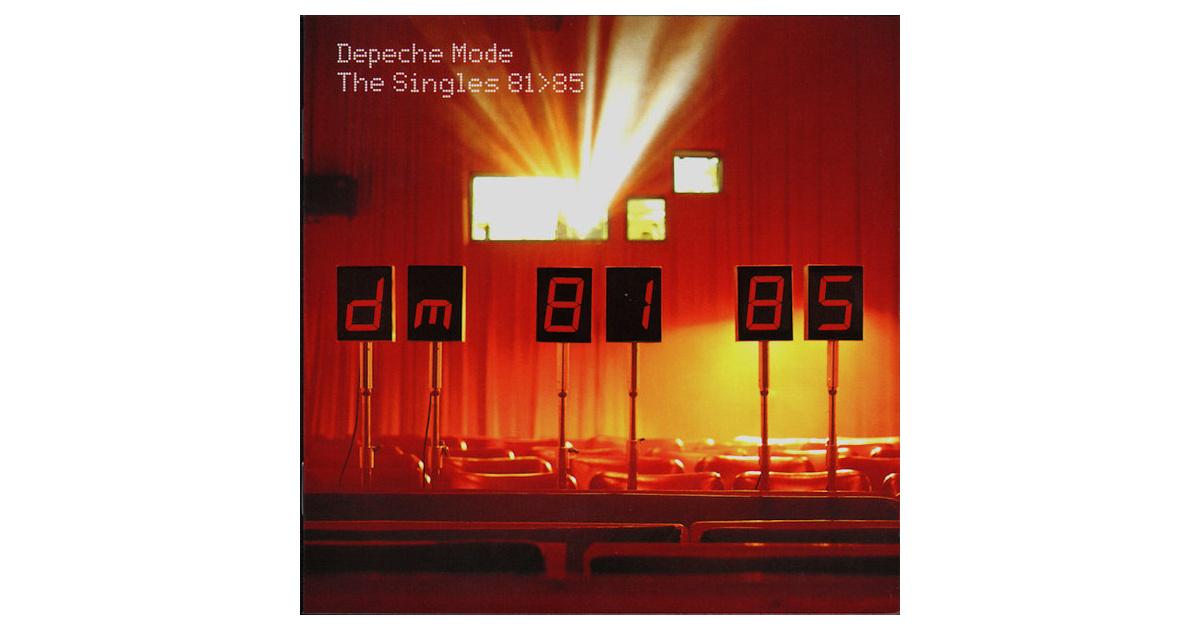 the singles 81-85 depeche mode