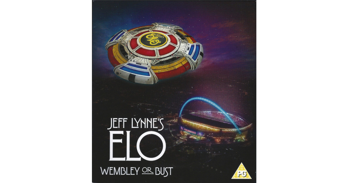 Jeff Lynne S Elo Wembley Or Bust 2cd Blu Ray Swamp