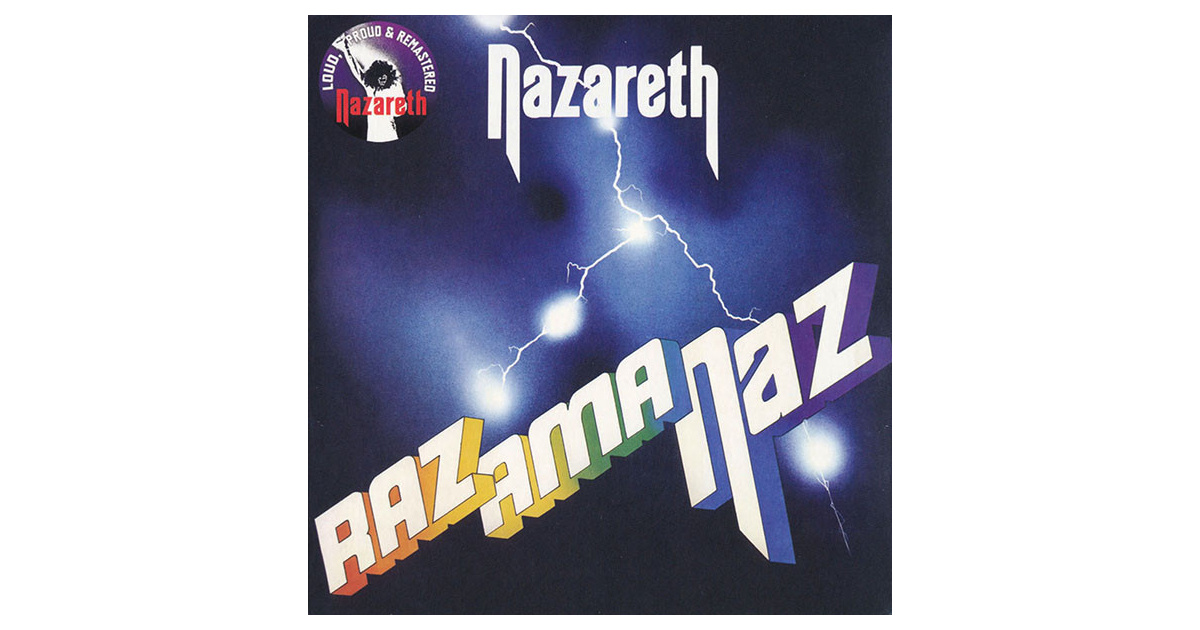 Nazareth Razamanaz Cd Swamp Music Record Store