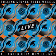 ROLLING STONES - Steel Wheels Live 4LP Blue & Orange coloured VINYL