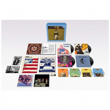 "KINKS - Arthur Or The Decline And Fall Of The British Empire - 50th Anniversary Box Set 4CD+4x7"" Vinyl"