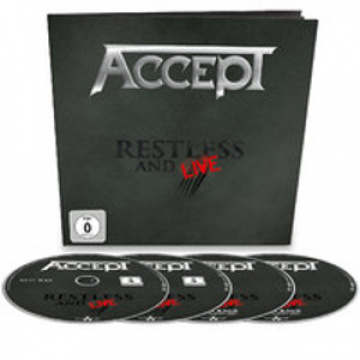 ACCEPT - Restless And Live EARBOOK 2CD+DVD+Blu-ray
