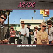 AC/DC - Dirty Deeds Done Dirt Cheap LP Sony Columbia UUSI