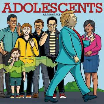 ADOLESCENTS - Cropduster LP UUSI Concrete Jungle