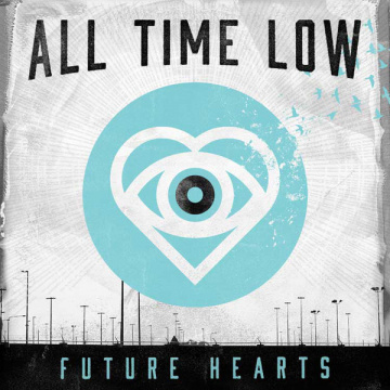 ALL TIME LOW - Future Hearts LP Hopeless UUSI LTD LIGHT BLUE VINYL (TARJOUS)