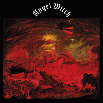 ANGEL WITCH - Angel Witch LP UUSI LTD colour VINYL Back On Black