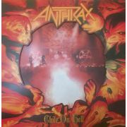 ANTHRAX - Chile on Hell 2LP LTD 700 RED/WHITE Night Of the Vinyl Dead