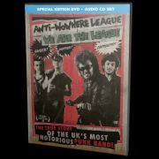 ANTI-NOWHERE LEAGUE - We Are the League – The True Story of UK's Most Notorious Punk Band! DVD+CD