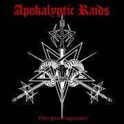 APOKALYPTIC RAIDS - The Pentagram LP UUSI LTD RED