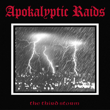 APOKALYPTIC RAIDS - The Third Storm LP Hells LTD SPLATTER