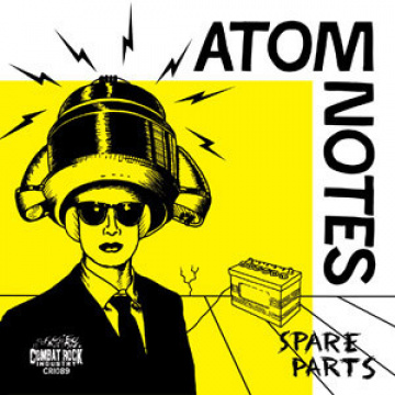 ATOM NOTES - Spare parts LP Combat BLACK (TARJOUS)