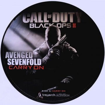 AVENGED SEVENFOLD - Carry on PICTURE-12-INCH Warner UUSI RSD 2013 RELEASE