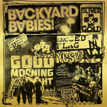 BACKYARD BABIES - Sliver and Gold LP +CD UUSI Century Media