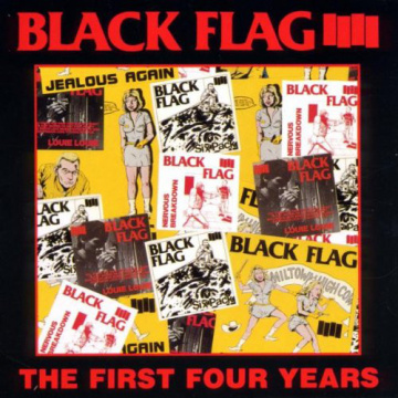 BLACK FLAG - The First Four Years LP UUSI SST