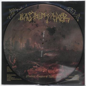BLASPHEMOPHAGHER - Nuclear empire of apocalypse PICTURE-LP NWN