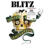 BLITZ - Voice Of A Generation LP UUSI Radiation deluxe series