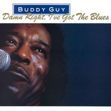 BUDDY GUY - Damn Right, I've Got the Blues LP UUSI Music On Vinyl