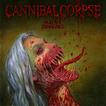 CANNIBAL CORPSE - Violence Unimagined LP Metal Blade LTD 1000 BLOOD RED MARBLED