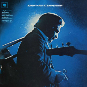 JOHNNY CASH - At San Quentin LP UUSI Sony