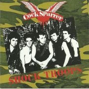 COCK SPARRER - Shock troops CD