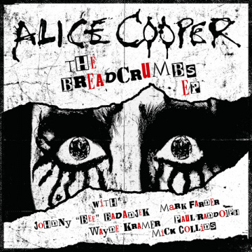 "ALICE COOPER - The Breadcrumbs 10"" EP UUSI Ear Music LTD EDITION"