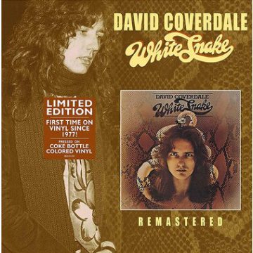 DAVID COVERDALE - White Snake LP UUSI LTD COKE BOTTLE colored vinyl Eagle Universal