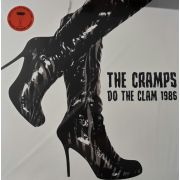 CRAMPS - Do The Clam 1986 2-LP Parachute ORANGE