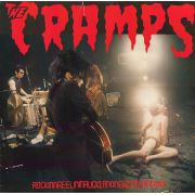 CRAMPS - Rockinnreelininfucklandnewzealandxxx LP Vengeance UUSI colour vinyl