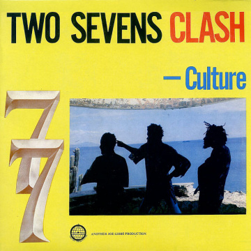 CULTURE - Two Sevens Clash LP UUSI Vp