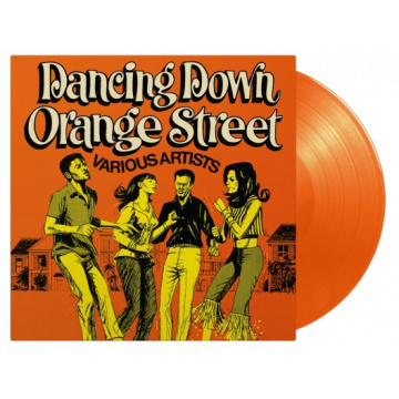 V/A - Dancing Down Orange Street LP UUSI Music On Vinyl LTD 750 ORANGE vinyl