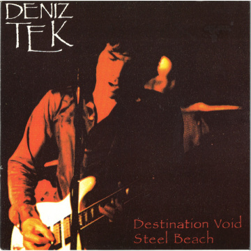 "DENIZ TEK - Destination Void 7"" Revenge Records LTD Green vinyl M-/VG+"