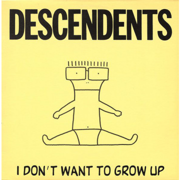 DESCENDENTS - I Don't Want to Grow Up LP UUSI SST Records