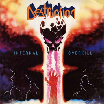 DESTRUCTION - Infernal Overkill LP LTD MARBLED