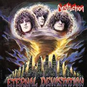DESTRUCTION - Eternal Devastation LP LTD FIRE SPLATTER