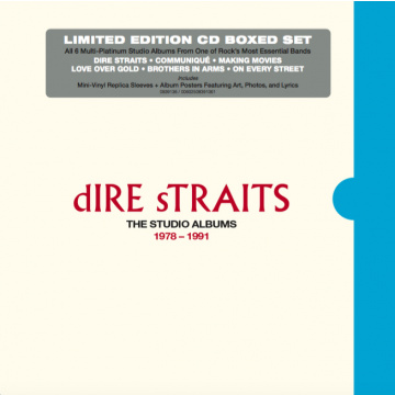 DIRE STRAITS - The Studio Albums 1978 - 1991 6CD BOX
